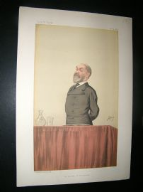 Vanity Fair Print: 1886 Frederick Harrison, Clergy